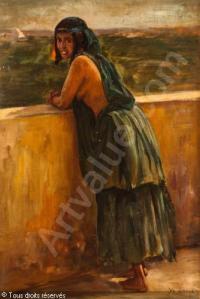laur-marie-yvonne-yo-1879-1943-jeune-marocaine-a-sa-terrasse-4145883